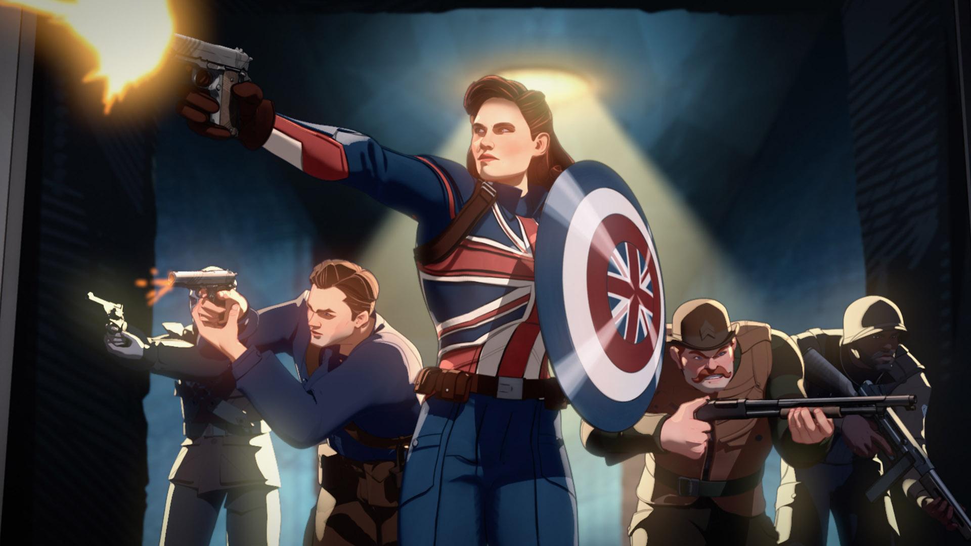Capitán Carter en el episodio 1 de ¿Y si ...?  series de television