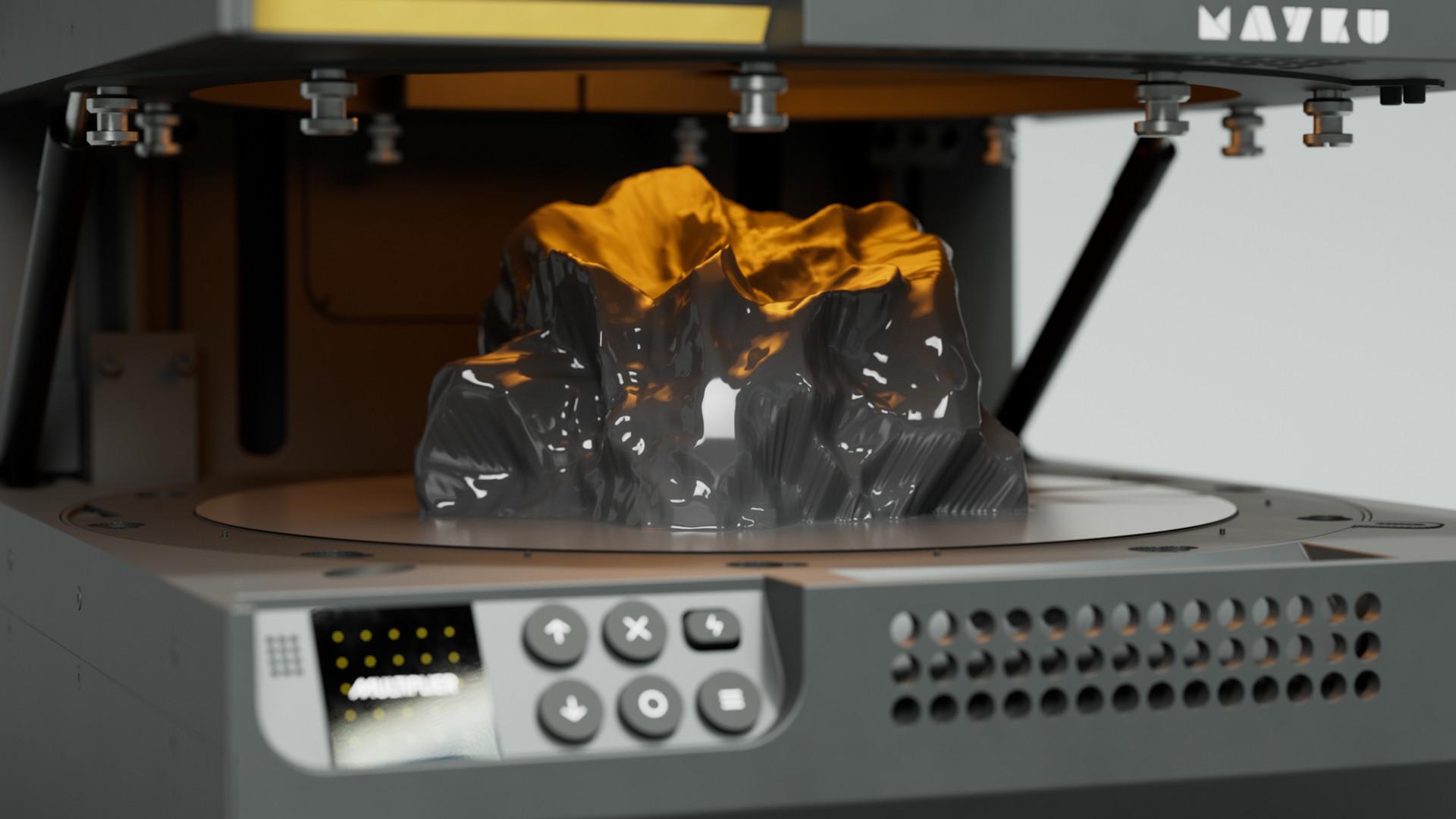Una imagen que demuestra la capacidad de formación al vacío del multiplicador Mayku.