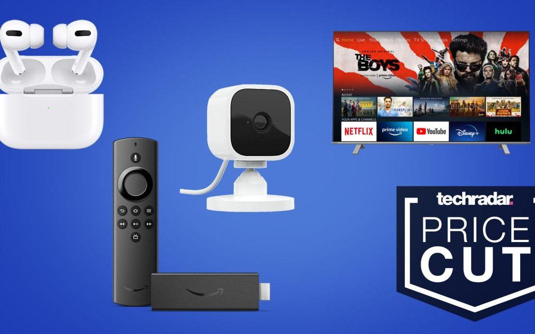 Epic Amazon Sale: € veinticuatro.99 Blink Mini, Smart TV, € ciento ochenta AirPods Pro, Fire TV Stick y más