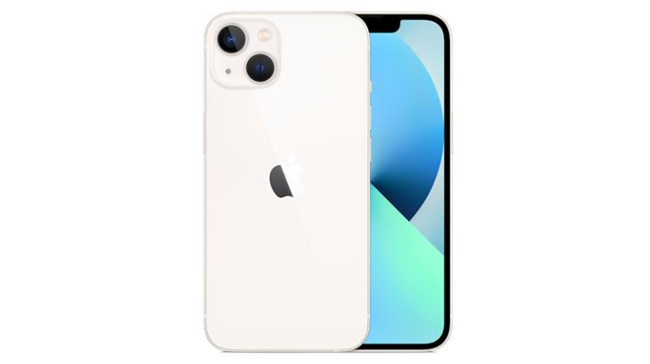 IPhone 13 en Starlight