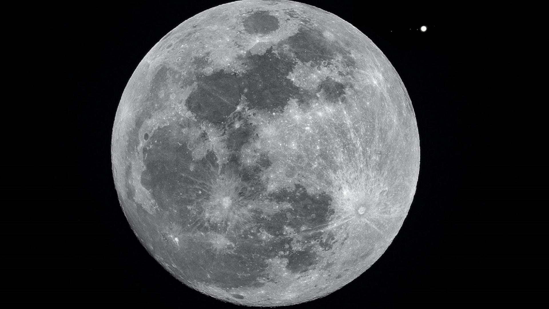Foto de la luna