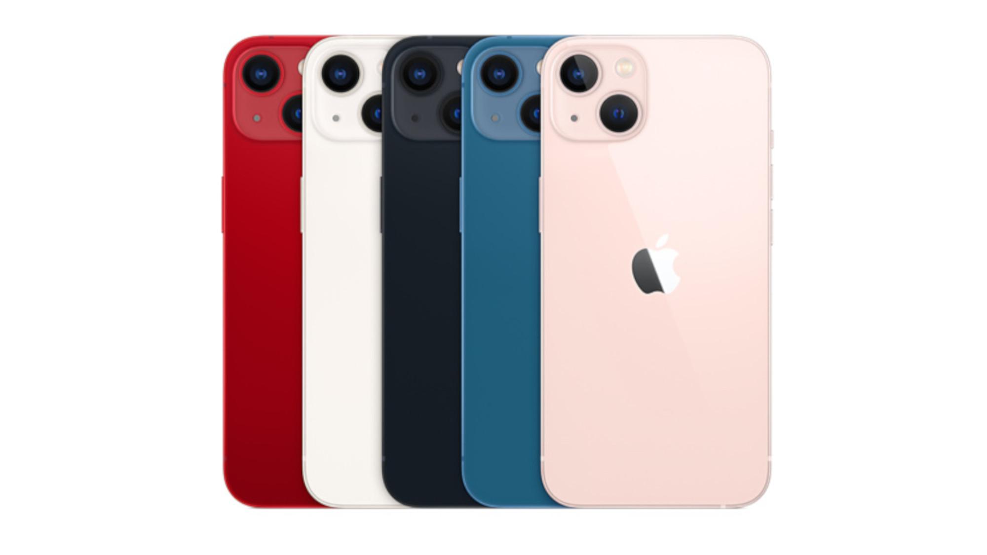 Imagen de las especificaciones de las ofertas del iPhone 13