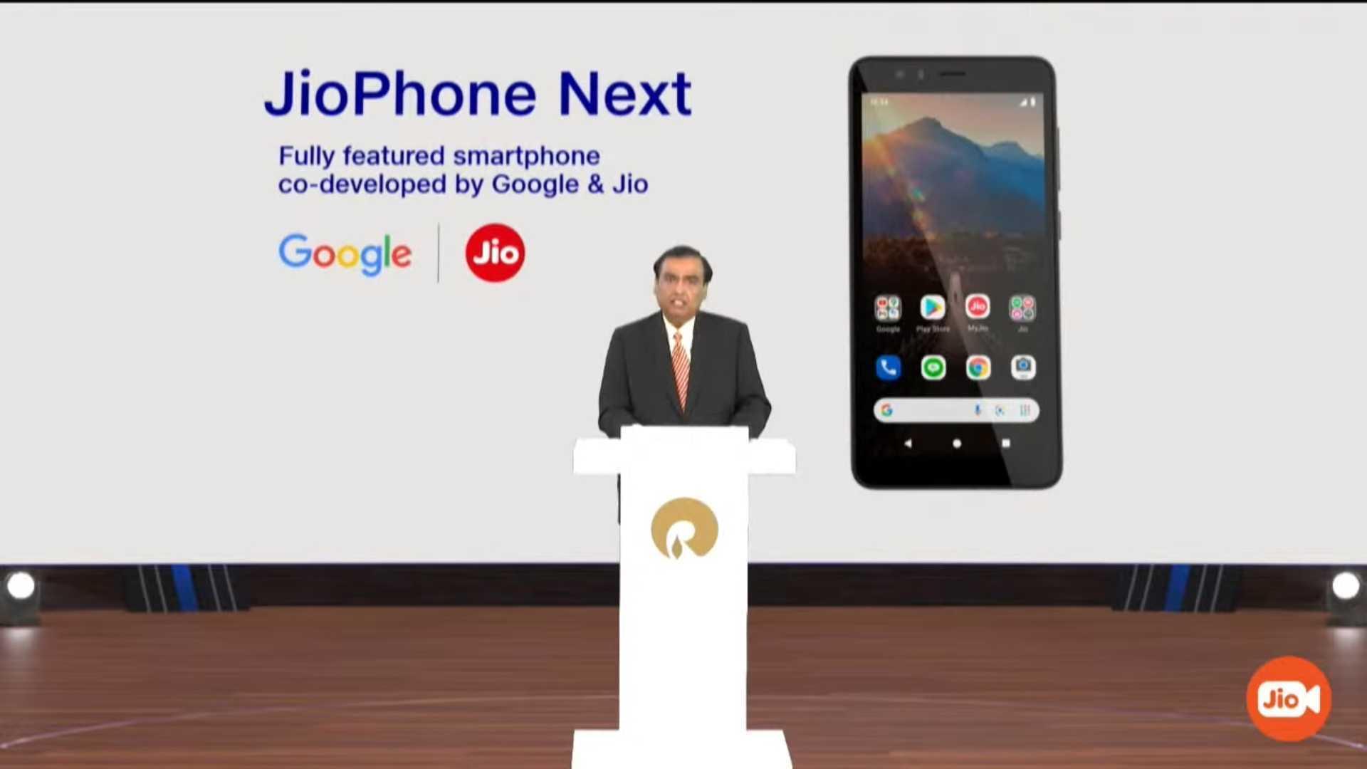 Reliance JioPhone Siguiente