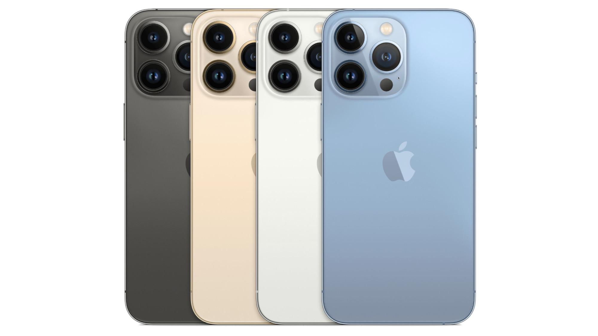 Ficha técnica de las ofertas del iPhone 13 Pro