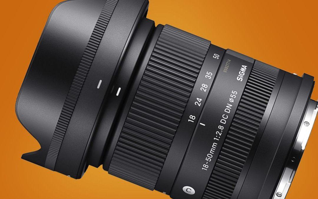 Sigma lanza el zoom f / veintiocho más pequeño del planeta para cámaras APS-C
