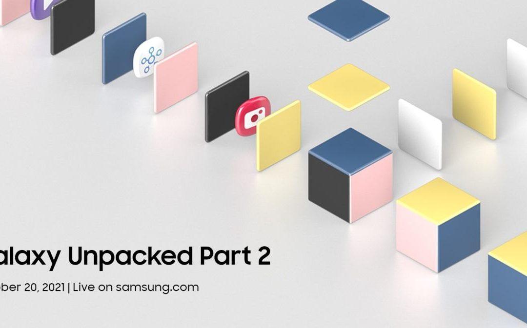 Samsung Galaxy Unpacked Live Weblog Parte 2: ¿Qué prosigue?