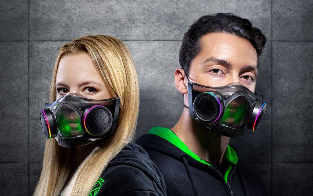 El protector facial de alta tecnología de Razer ya está en venta, y puedes ganar una GPU AMD seis mil novecientos XT con temática de Halo Infinite