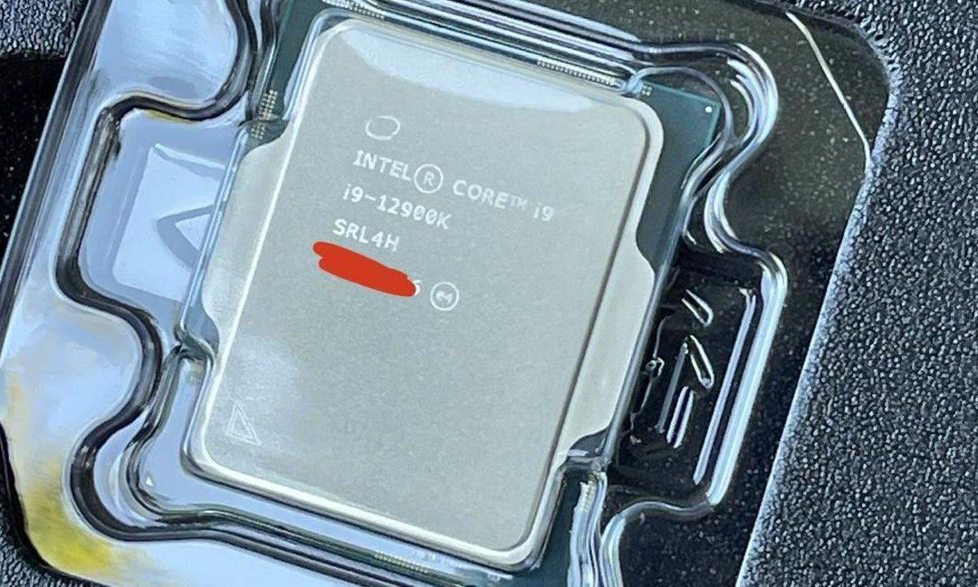 ¡Ups!  Los procesadores Intel Core i9-12900K ya se han vendido de una forma o bien otra