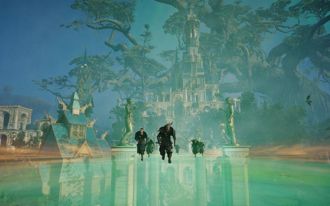 La próxima expansión de Assassin's Creed Valhalla podría inspirarse en God of War: Ragnarok