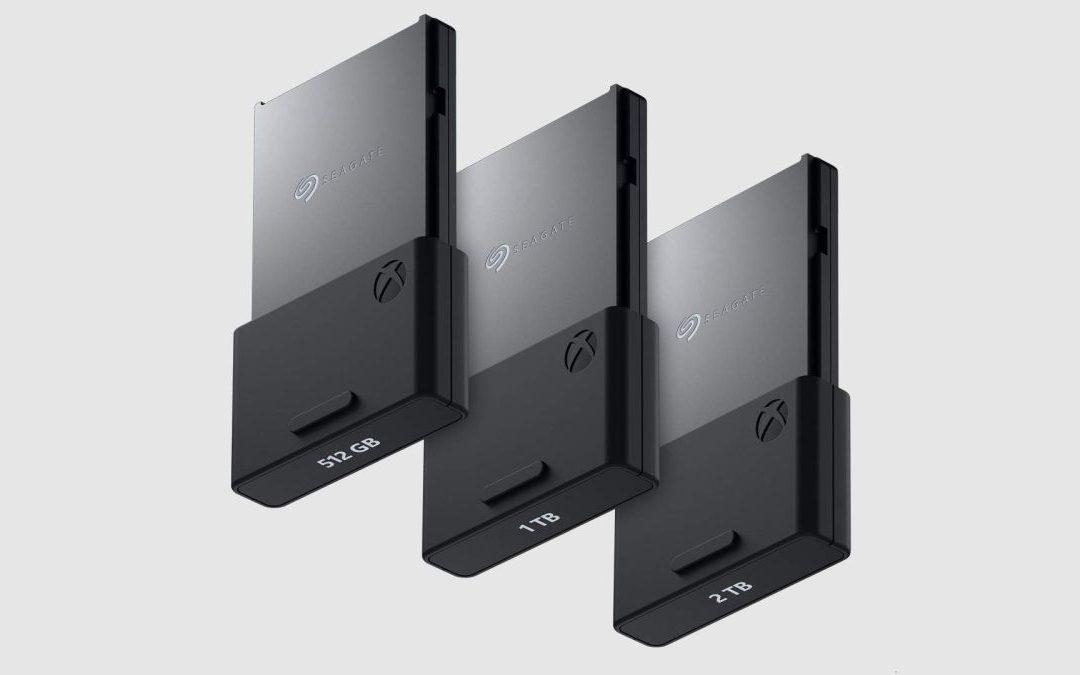 Se anuncian 2 nuevas tarjetas de expansión de almacenaje de 2TB y 512GB para Xbox Series X / S